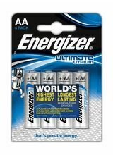 ENERGIZER AA Ultimate Lithium 4 Pack
