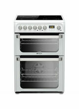 HOTPOINT HUE61PS Ultima 60cm Double Oven White