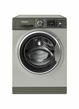 HOTPOINT NM11945GCAUK 9KG 1400 Spin ActiveCare Washer - Graphite