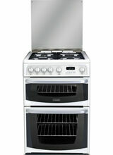 CANNON CH60GCIW Carrick 60cm Gas Double Oven White