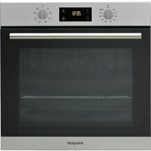 HOTPOINT SA2540HIX HydroClean Single Oven Stainless Steel