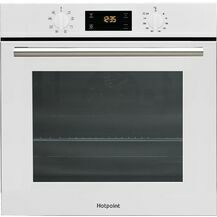HOTPOINT SA2540HWH HydroClean Single Oven White