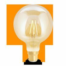 Wiz Smart Warm White or Daylight Filament BC/B22 G95 Globe Dimmable Lamp