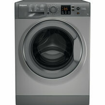 HOTPOINT NSWR743UG Washer 7kg 1400 Spin AntiStain Graphite