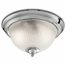 SEARCHLIGHT 4042 American Diner IP44 Chrome Flush Fitting