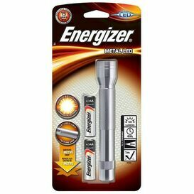 Energiser Metal 2AA LED Torch