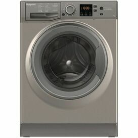 HOTPOINT NSWF743UGG 7kg 1400 Spin Free-Standing Washer Graphite