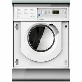Indesit BIWDIL7125 7KG+5KG 1200RPM Built-In Washer Dryer
