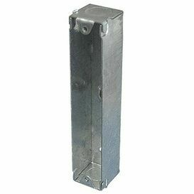 MK 2G Metal Architrave Back Box