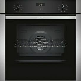 NEFF B3ACE4HN0B Slide and Hide Single Oven Stainless Steel