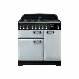 RANGEMASTER ELANDLX90DF Elan Deluxe 90cm Dual Fuel 5 Colour Options