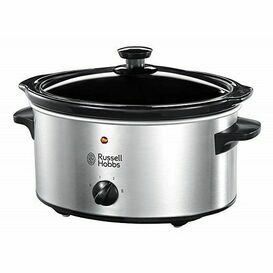 RUSSELL HOBBS 23200 Slow Cooker 3.5L Stainless Steel