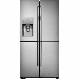 SAMSUNG RF56J9040SR American 4 Door Fridge Freezer Stainless Steel