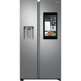 SAMSUNG RS68N8941SL HomeHub American Style Fridge Freezer Steel