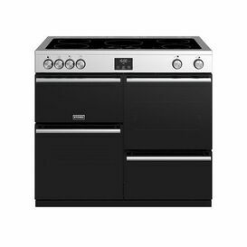 STOVES 444410758 100cm Precision Deluxe Electric Range St/Steel