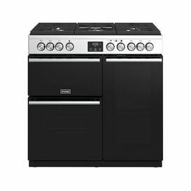 STOVES 444410762 90cm Precision Deluxe Gas Range Stainless Steel