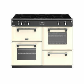STOVES 444444476 Richmond 110cm Induction Range Cooker Cream