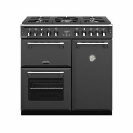 STOVES 444410252 Richmond 90cm Dual Fuel Range Cooker Anthracite