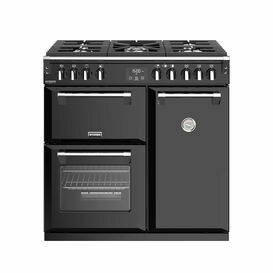 STOVES 444444903 Richmond Deluxe 90cm Gas Range Cooker Black