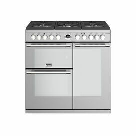 STOVES 444444932 Sterling Deluxe 90cm Dual Fuel Range Stainless Steel