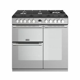 STOVES 444444934 Sterling Deluxe S900DF GTG 90cm Stainless Steel