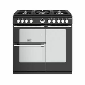 STOVES 444444935 Sterling Deluxe S900G 90cm Gas Black