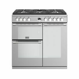 STOVES 444444936 Sterling Deluxe 90cm Gas Stainless Steel