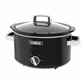 TOWER T16019BL 6.5L 270W  Slow Cooker Stainless Steel