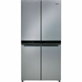 WHIRLPOOL WQ9B1L-UK 4 Door American Fridge Freezer St/Steel