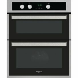 WHIRLPOOL AKL307IX Built Under Double Oven Stainless Steel
