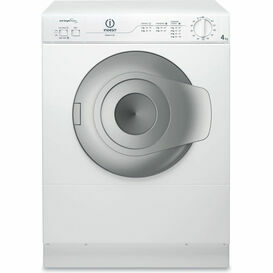 INDESIT NIS41V 4kg Compact Tumble Dryer White