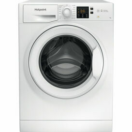 HOTPOINT NSWF742UW Washing Machine 7kg 1400 Spin AntiStain White