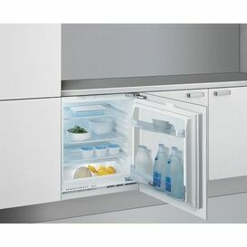 WHIRLPOOL ARG146ALA1 60cm Integrated Under Counter Auto Defrost Fridge A+