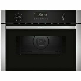 NEFF C1AMG84N0B Built-in Compact Electric Oven With Microwave Function