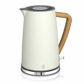 SWAN SK14610WHTN 1.7L Nordic Style Cordless Kettle - White