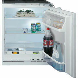HOTPOINT HLA11 Integrated Under Counter Larder Fridge 144L A+
