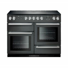 RANGEMASTER 106150 Nexus 110 Induction Range Slate with Chrome Trim