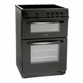 MONTPELLIER MDC600FK 60cm Double Oven Cooker With Ceramic Hob