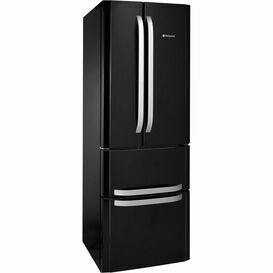 HOTPOINT FFU4DK 1.9m 4 Door Fridge Freezer Black