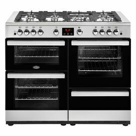 BELLING 444444100 CookCentre 110cm Gas Range Cooker Stainless Steel