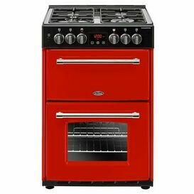 BELLING 444444715 Farmhouse 60cm Dual Fuel Jalapeno Red