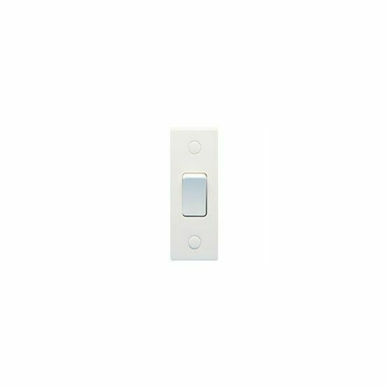 GET Exclusive 1G 2W 10a Architrave Switch White