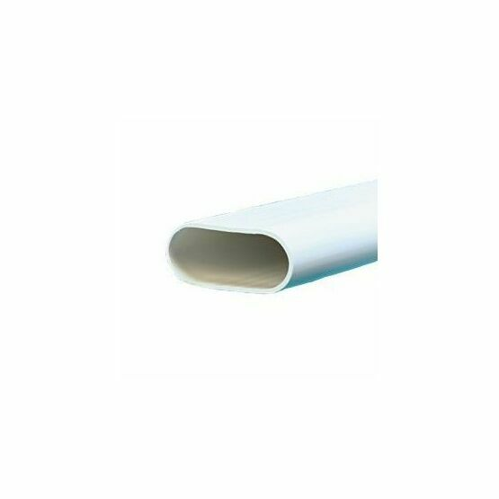 Conduit Oval 16mmx3m White