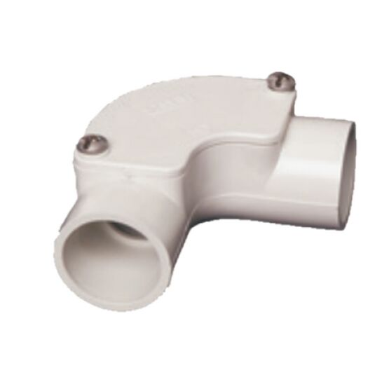 Elbow Inspection 20mm White