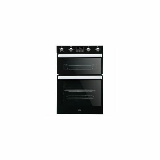 BELLING BI902FPBLK Built-In Electric Double Oven Black